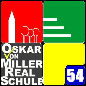 Logo der Oskar-von-Miller Realschule in Rothenburg ob der Tauber