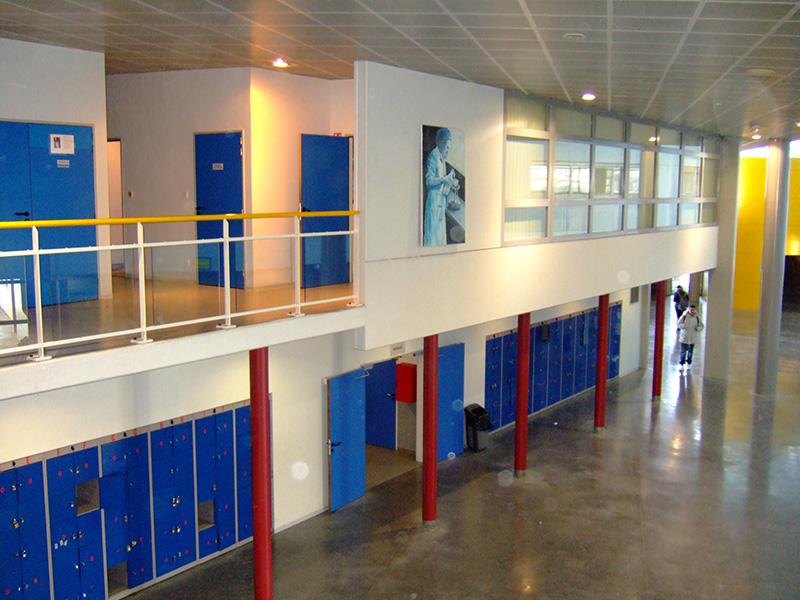Aula unsere Austauschschule in Frankreich Collège-Irène-Joliot-Curie