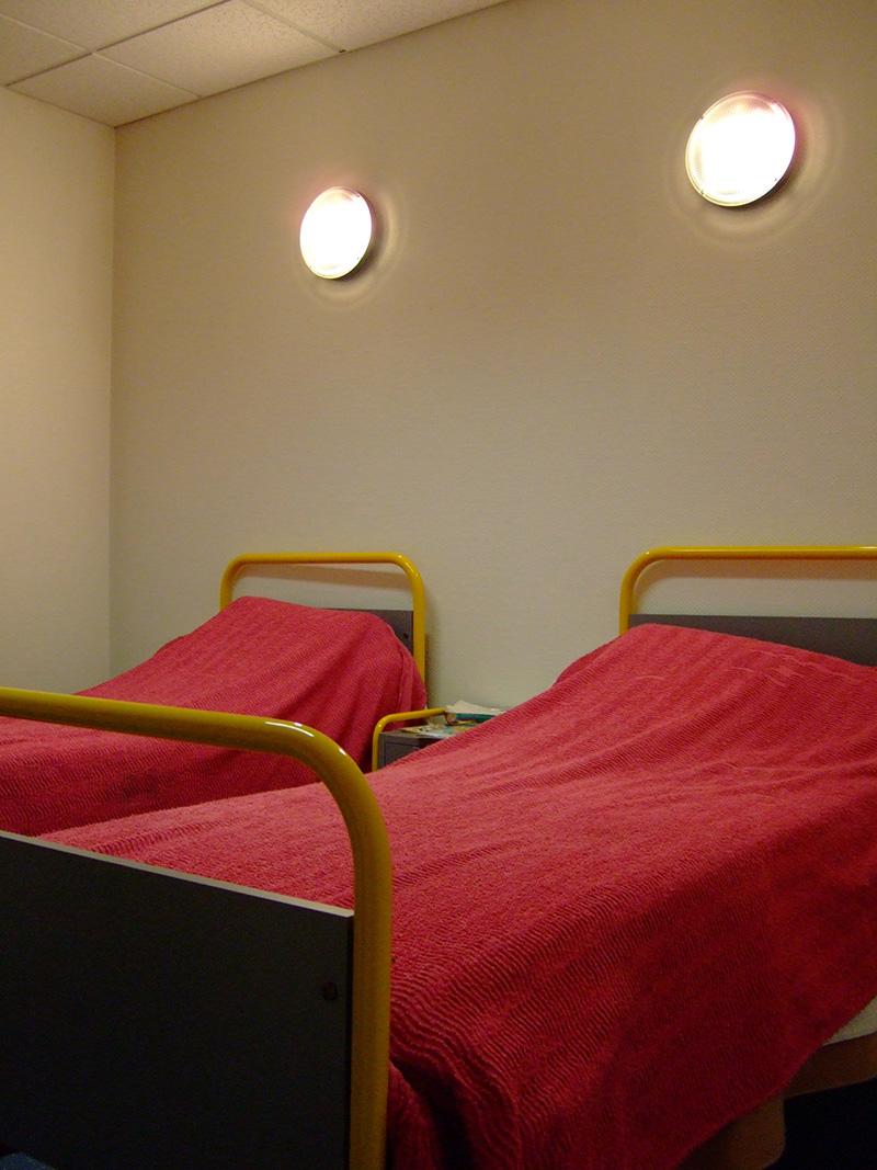 Krankenzimmer an unserer französischen Austauschschule