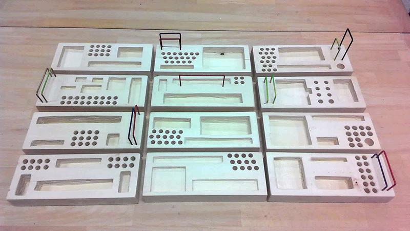 Federschalen gefertigt im Fach Werken