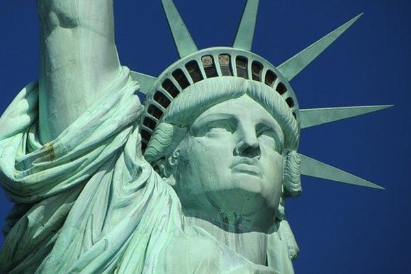 Nahaufnahme der Freiheitsstatue in New York