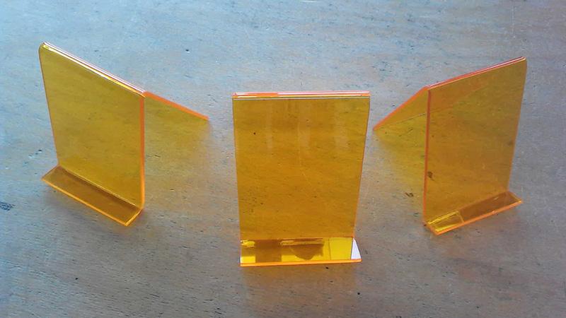 Handystützen gefertigt im Fach Werken