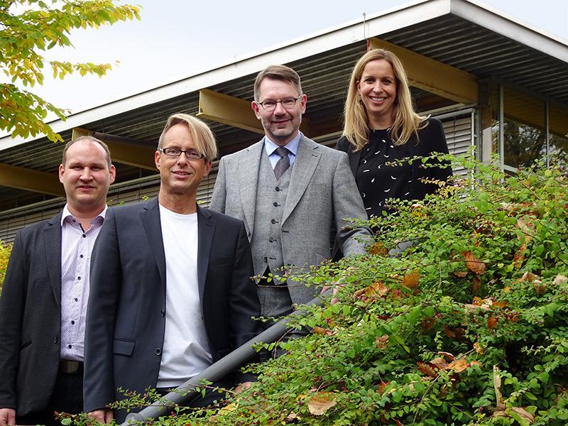 Die Schulleitung der Oskar-von-Miller Realschule in Rothenburg ob der Tauber