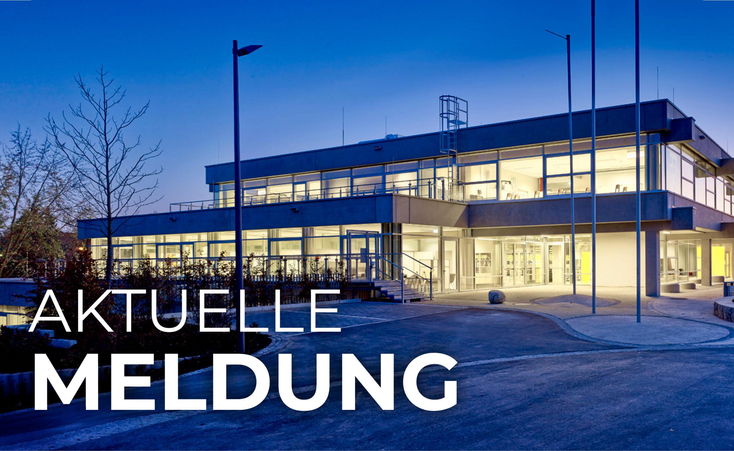Aktuelle Meldung der Oskar-von-Miller Realschule in Rothenburg ob der Tauber